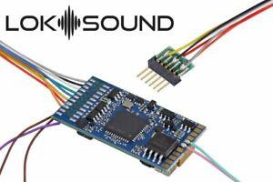 ESU-58416-LokSound-5-dcc-mm-sx-m4-034-leerdecoder-034-6-pin-nem651-NEUF