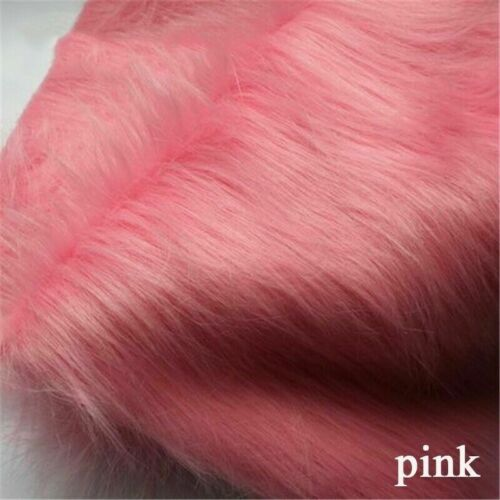 9cm Long Plush Fabric Faux Fur Fluffy Cloth Cosplay Clothes Jewelry Display