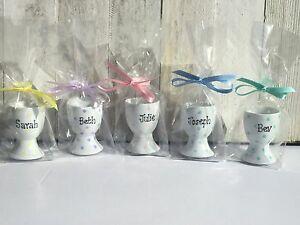 Image Is Loading Personalised Easter Egg Cup Gift Wedding Favour Kids