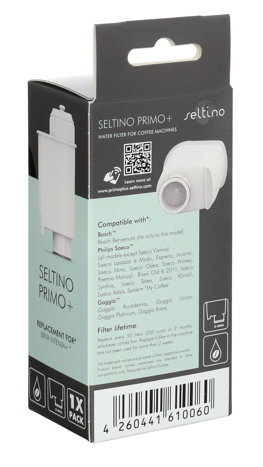 Wasserfilter ersetzt Saeco CA6702//10 2x Seltino Primo
