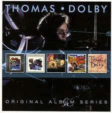 Thomas Dolby ORIGINAL ALBUM SERIES Golden Age Of Wireless FLAT EARTH New 5 CD