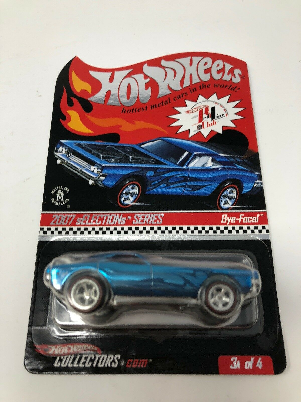 Hot Wheels 2007 RLC Selections Bye-Focal 6589 7716