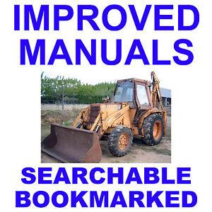 Case-580G-Loader-Backhoe-Factory-Operators-Owner-Instruction-IMPROVED-Manual-CD