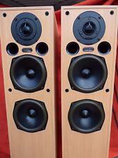 Acoustic Energy AE109 eccellente Britannica DIFFUSORI DA PAVIMENTO BEIGE AE HIFI