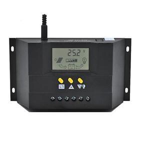 Solar Charge Controller PWM 50A//60A 12V//24VDC or 48V Battery Charger Regulator