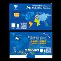 Hong Kong 7-Day  4G LTE Unlimited Data + 200 mins Call Prepaid SIM Card (US)