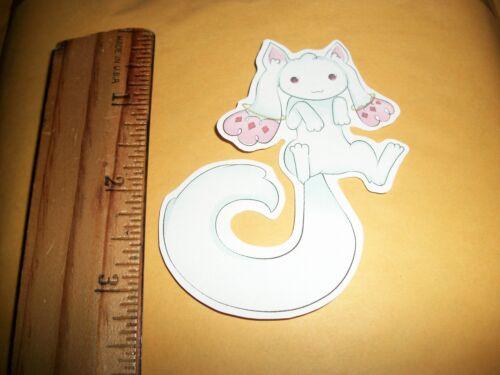 *NEW* Kyubey Puella Magi Madoka Magica Sticker