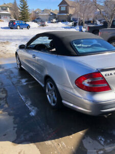 2005 Mercedes-Benz CLK 5.0L
