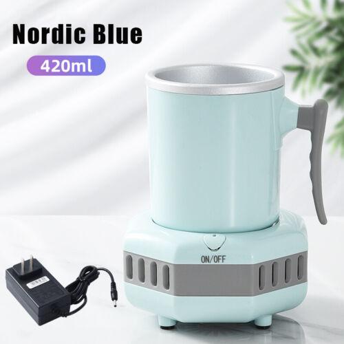 Smart Beverage Cooler Cup Fast Cooler Electric Cooling Mug Desktop Refrigerator