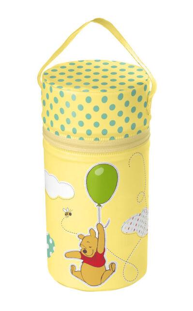 Warmhaltebox XXL gelb Disney Winnie Pooh Thermobox Flaschenwärmer Isoliertasche