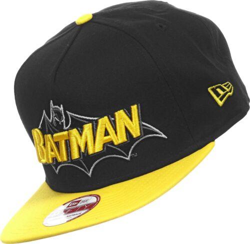 BATMAN Reverse Classic  S//M A03 NEW ERA OFFICIAL A-FRAME Snapback Baseball Cap