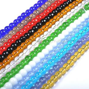 Top-Quality-Czech-Glass-Round-Spacer-Loose-Beads-4MM-6MM-8MM-10MM-12MM