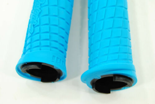 ODI Troy Lee Lock On Bonus Mountain Bike Troy Lee Aqua Blue//Black w// Clamp Grips