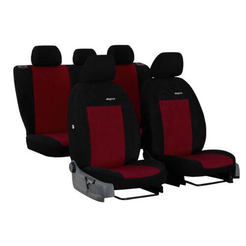 Autositzbezüge für Opel Mokka 12-17 Dunkel Rot Komplettset Schonbezüge Bezug