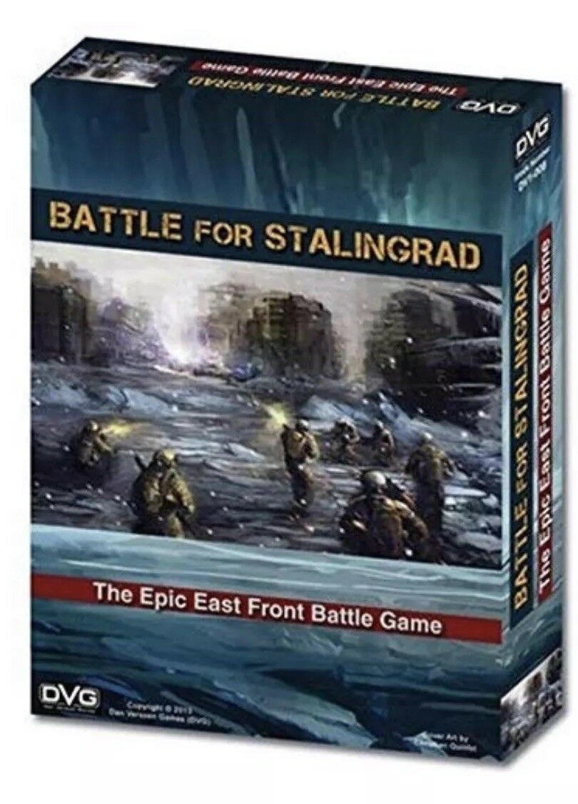 DVG- Battle for Stalingrad The Epic East Front Battle- Brand New- Card Game