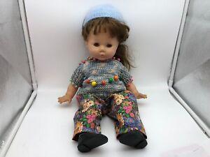Top Zustand Dolls Zapf Puppe Vinyl Puppe 44 Cm