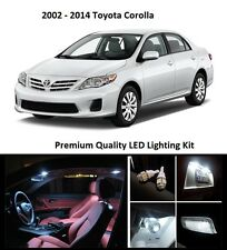 2007 - 2011 Toyota Corolla Premium White LED Interior Package (6 Pieces)