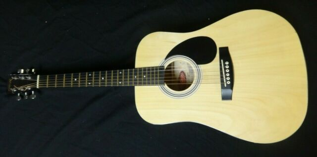 Stagg Handmade Western Acoustic Guitar Sw201 3 4n Nr Auction For Sale Online Ebay