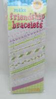 Liesure Arts Make 9 Friendship Bracelet Kit - 5 Floss Colors