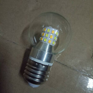 Clear Glass Globe LED Bulbs E27 220V 7W Double Colors Edison Light Fixtures Loft