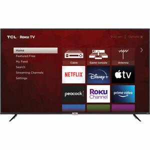 "TCL 75"" 4-Series 4K Ultra HD HDR LED Smart Roku TV - 75S435"