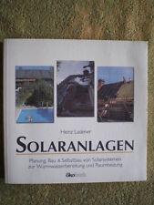 Solaranlagen Planung Selbstbau von Solarsystemen Solartechnik Sonnenkollektoren