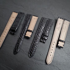 OMEGA 15mm 14mm Genuine Crocodile Alligator 31 Swiss Watch Strap NOS Leather