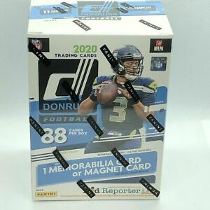 2020-NFL-Donruss-Football-Trading-Card-Blaster-Box-NEW-SEALED