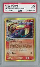 Pokemon EX Dragon Frontiers Milotic Delta 5/101 Holo Rare PSA 9