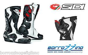 Stivali Moto Sidi Roarr Bianco-Nero