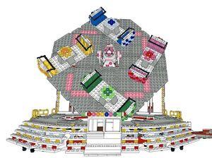 Lego-Funfair-Thrillride-Shake-Off-HUSS-Building-instructions