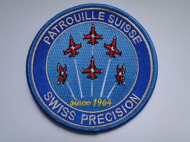 Aufnäher  Patrouille de Suisse   -Swiss Precision ca 9 cm