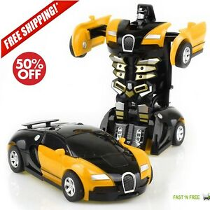 Toys For Boys Robot Car Kids Toddler Robot 3 4 5 6 7 8 9 Year Old