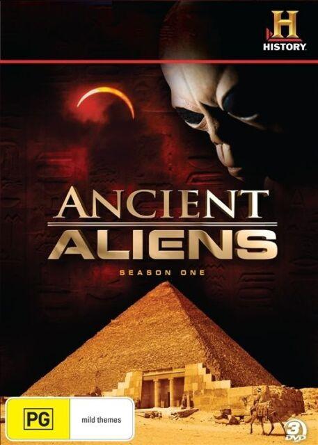 Ancient Aliens Season 1 DVD 3-Disc Set Region 4