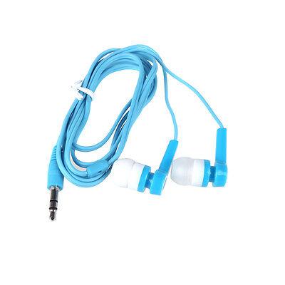 White & Blue In-Ear Earphone Earbud Headphone for iPod iPhone MP3/4 Smartphone