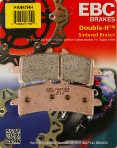 EBC Double-H Sintered Brake Pads Street FA447HH FA447HH Front 61-1452 1721-1010
