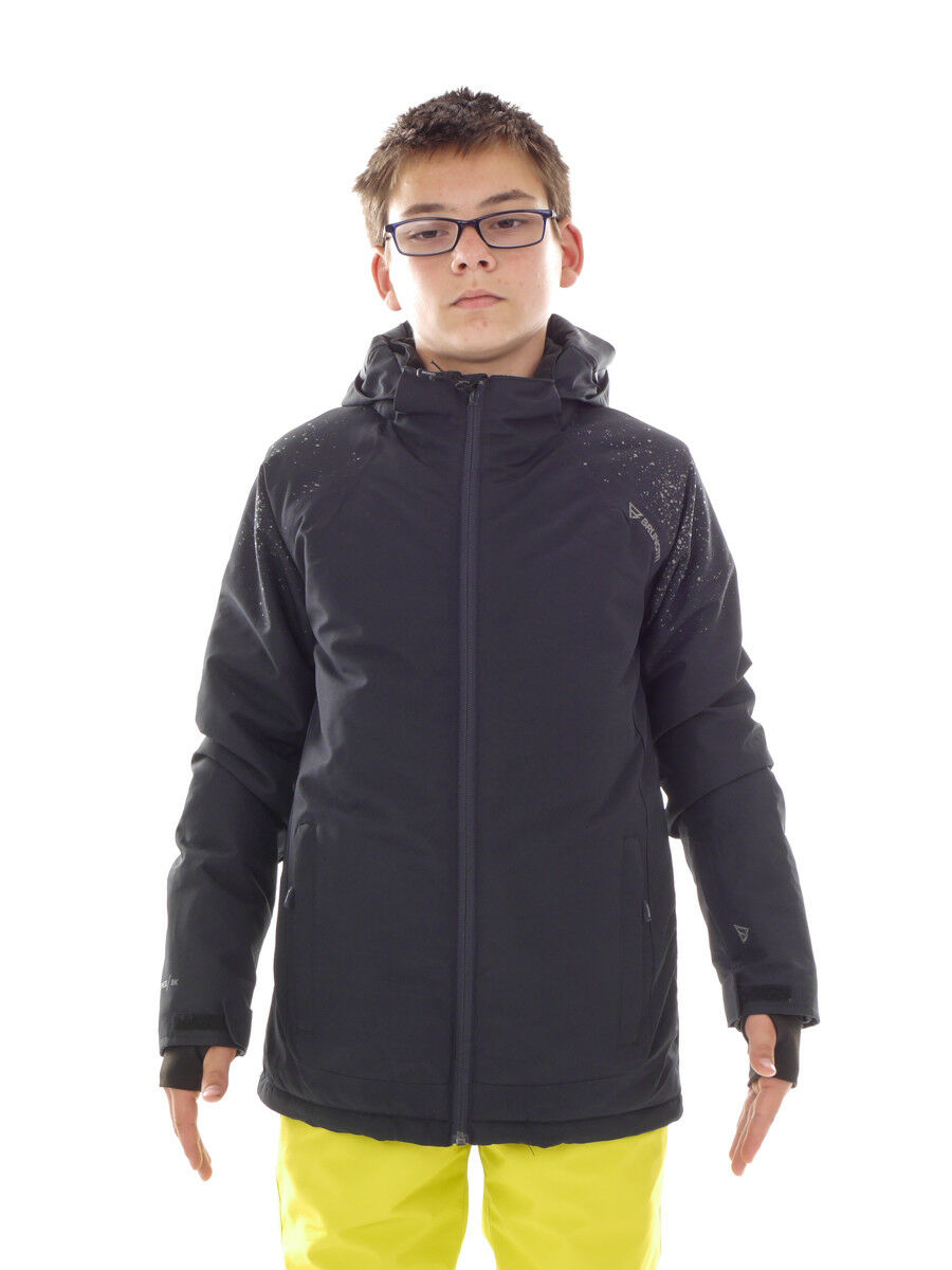 Brunotti Skijacke Snowboardjacke Winterjacke schwarz Sadler Regular 8k