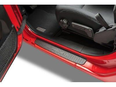 Car Window Guards >> 2018-2020 Jeep Wrangler JL Mopar Black Plastic Door Sill Guards 82215393 | eBay