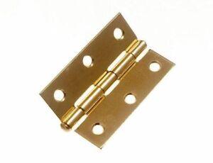 """* Lot 100 X Loose Pin Steel Butt Charnières 75 Mm 3"""" Et Vis 11c3-afficher Le Titre D'origine"""