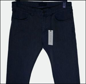 96af87f4c5f868 BNWT MEN S SUPERFINE CHASE BUCKLE JEANS W33