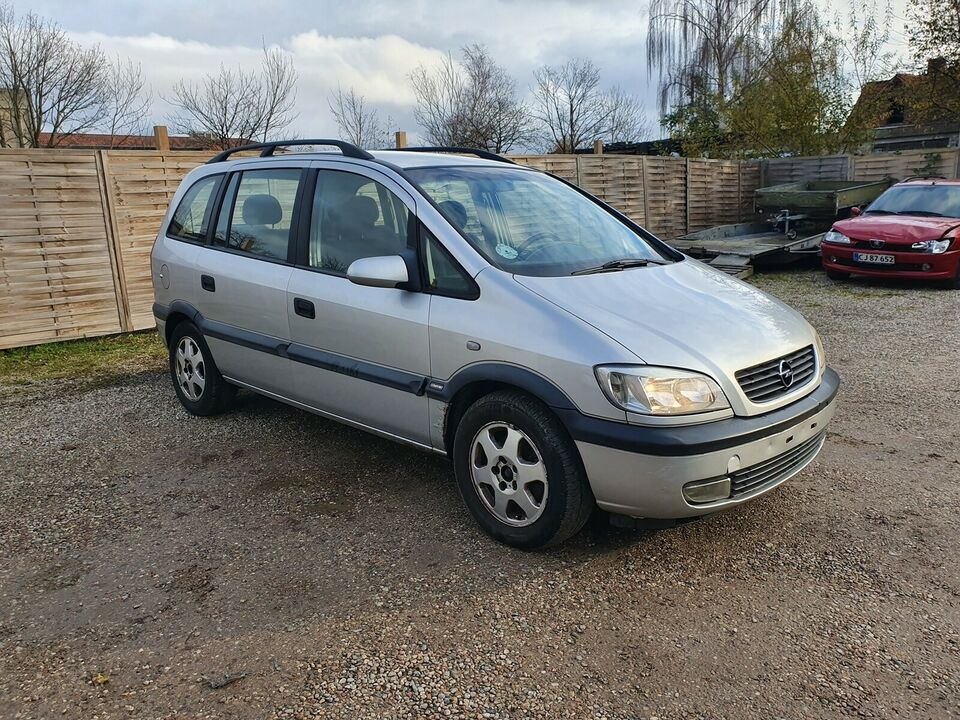 Opel Zafira, 1,8 16V Elegance aut., Benzin