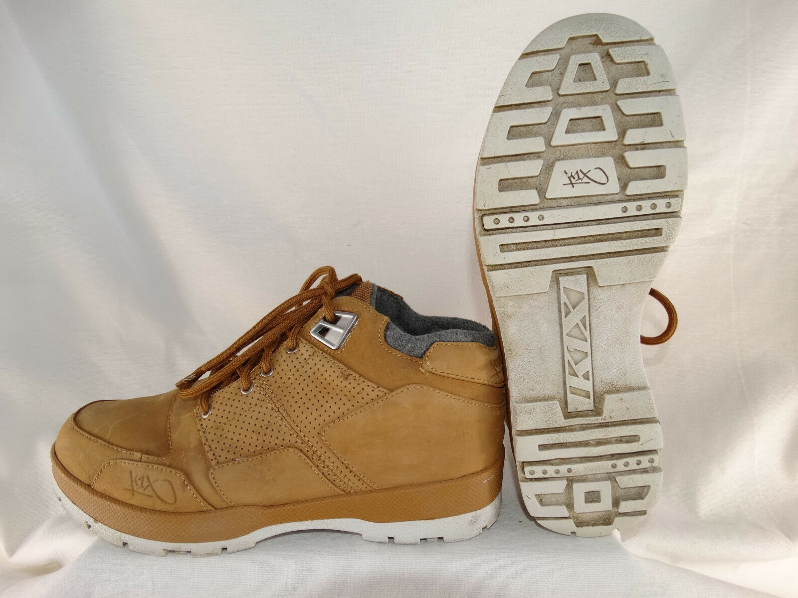 K1X H1ke Stiefel Hiking Stiefel gefüttert hellbraun US 8,5 EU 42