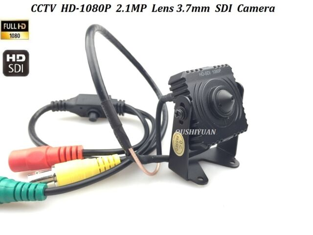 CCTV 1/2.8 Panasonic 2.1MP Full 1080P  Pinhole Spy HD SDI Mini Box Camera