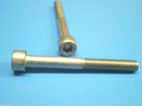 acier inoxydable vis DIN 912 tête cylindrique m6 x 130 mm v2a 1