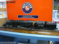 Lionel 6-38030 Santa Fe Tmcc 2-8-8-2 Loco And Tender Odyssey System