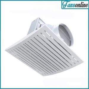 Ventair Jet Exhaust Fan White High Capacity Ceiling Fan Bathroom Fan Ebay