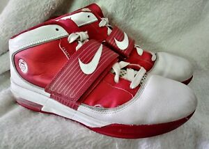 467a091be0ba Mens Nike Zoom Soldier IV TB Lebron 407630 105 Sz 11 Red White Shoes ...