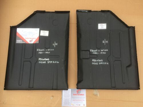 FORD ESCORT e ORION MK3 MK4 pavimenti ANTERIORE COPPIA 1980-1990 XR3 XR3i RS Turbo XR