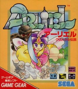 SEGA-Game-Gear-Spiel-Arliel-Crystal-Densetsu-Crystal-Warriors-JAP-Modul