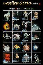 NEW!!! DIABLO 3 ROS XBOX ONE - 23 animali/pets/compagno-tutti gli animali 23-CUORI